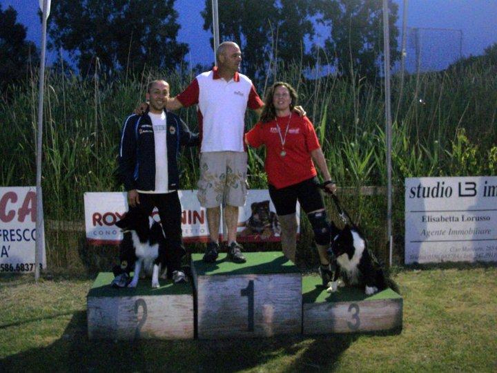Andrea e Shonik al secondo posto nella Gara CSEN sul podio